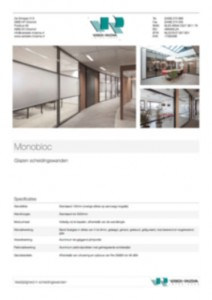 Monobloc specificaties