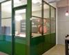 Glaswand monobloc vergaderruimte