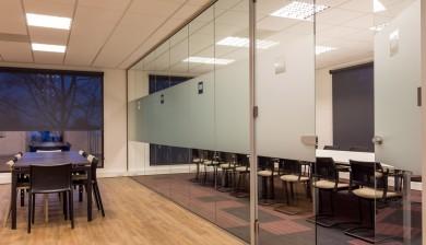 Glazen kantoorwand Heras CRH