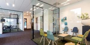 Glazen scheidingswand kantoor 2