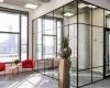 Retro glaswanden inclusief kaderdeur